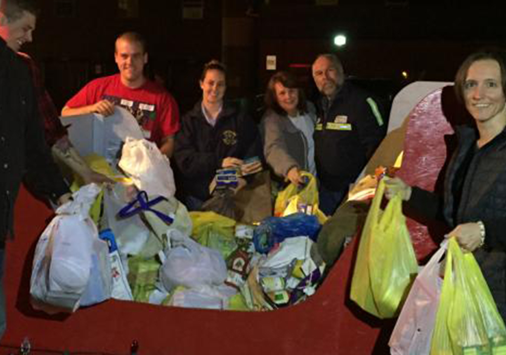 Thank You to the Finderne Rescue Squad for Last Night's Donation!