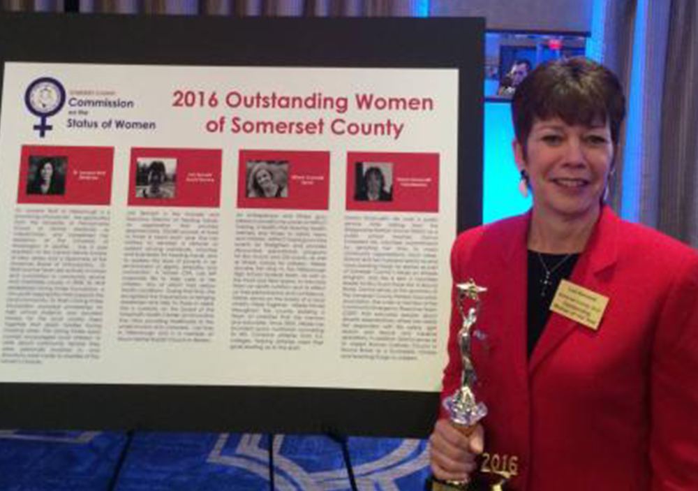 Founder & Exec. Director Honored As Woman of the Year
